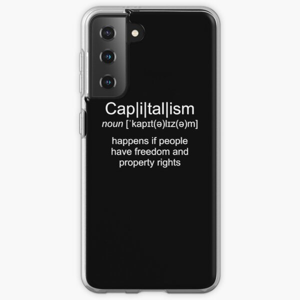Definition of capitalism Samsung Galaxy Soft Case
