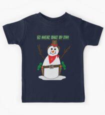Cowboy Snowman Kids Clothes
