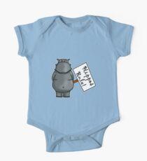 Hippos Rule One Piece - Short Sleeve