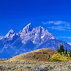 Majestic Teton by Rick Louie