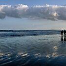 beach walk.. by Michelle McMahon