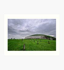 Newgrange.. Art Print
