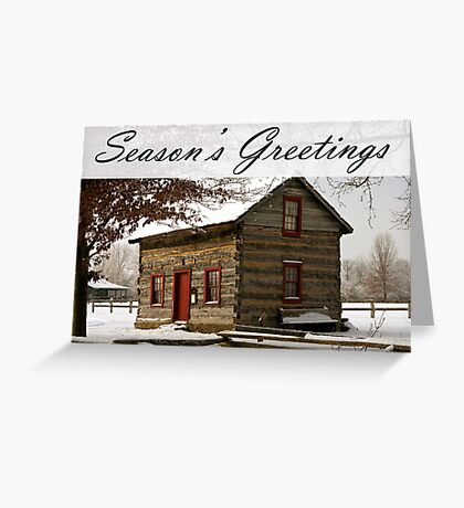 A Place To Stay Warm Greeting Card