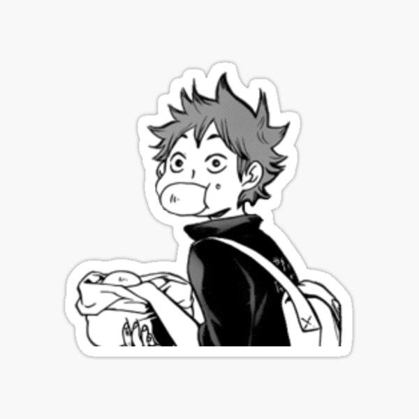 Hinata Haikyuu Meme Sticker