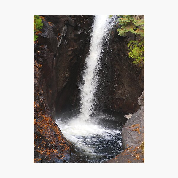 Cascade River Falls Photographic Print
