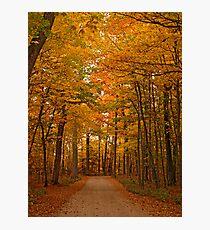 Autumn in Door County Photographic Print