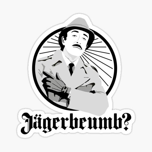 Jagerbeumb - Inspector Clouseau Pegatina