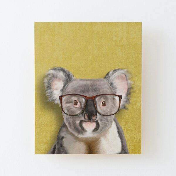 Mr Koala Wood Mounted Print