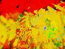 Water Abstract - Rage by Deborah Crew-Johnson