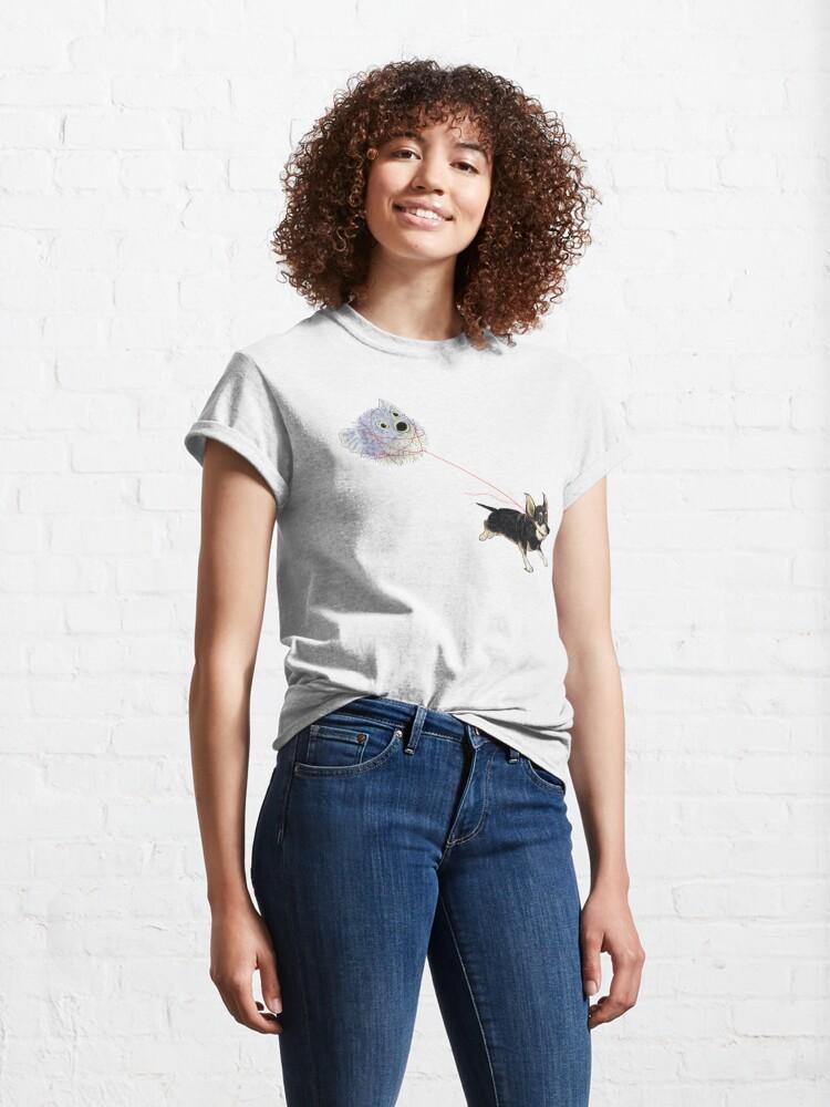 Alternate view of Pufferpup Classic T-Shirt