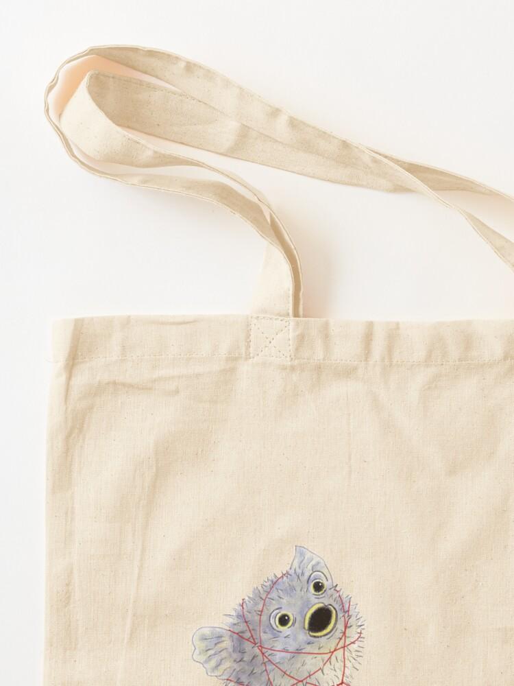 Alternate view of Pufferpup Tote Bag