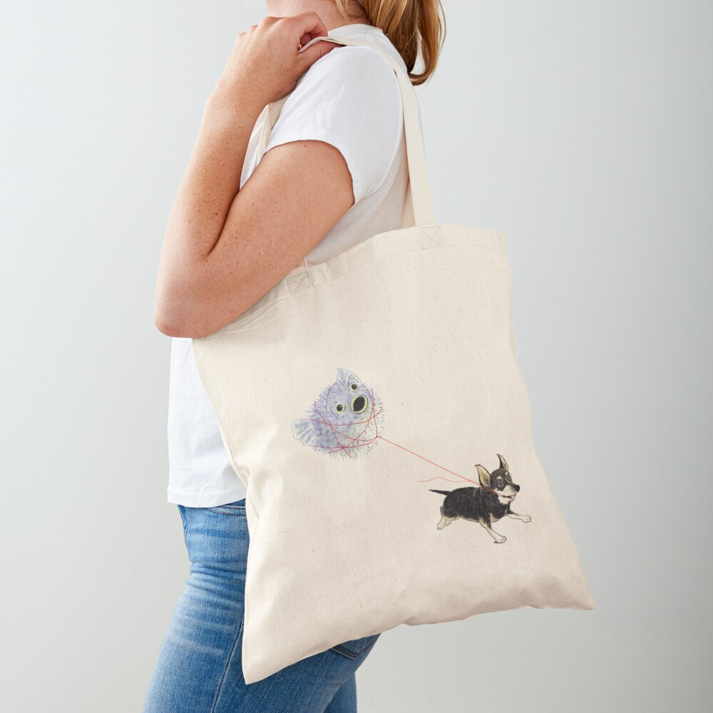 Pufferpup Tote Bag