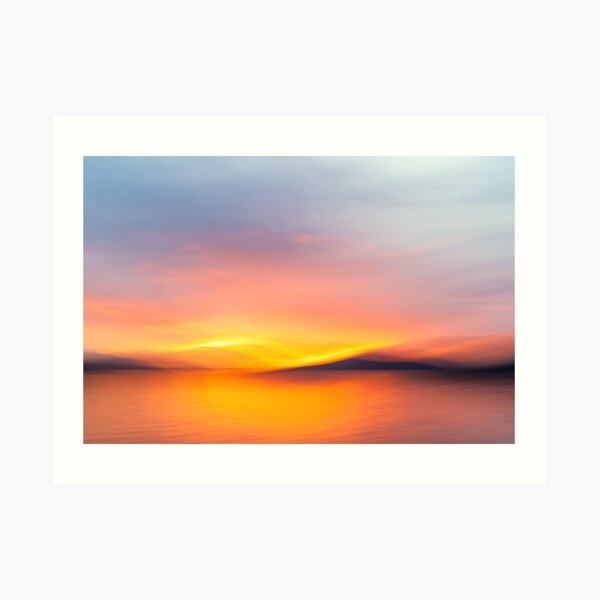Watercolor Morning Art Print
