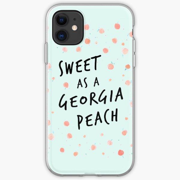 Sweet as a Georgia Peach iPhone Soft Case