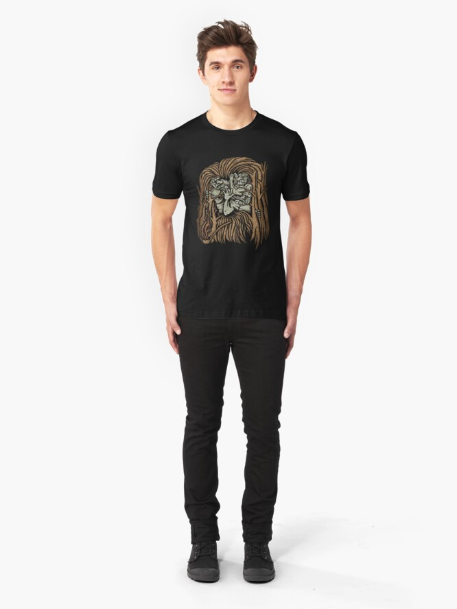 Alternate view of The Dawn Will Take You All Slim Fit T-Shirt