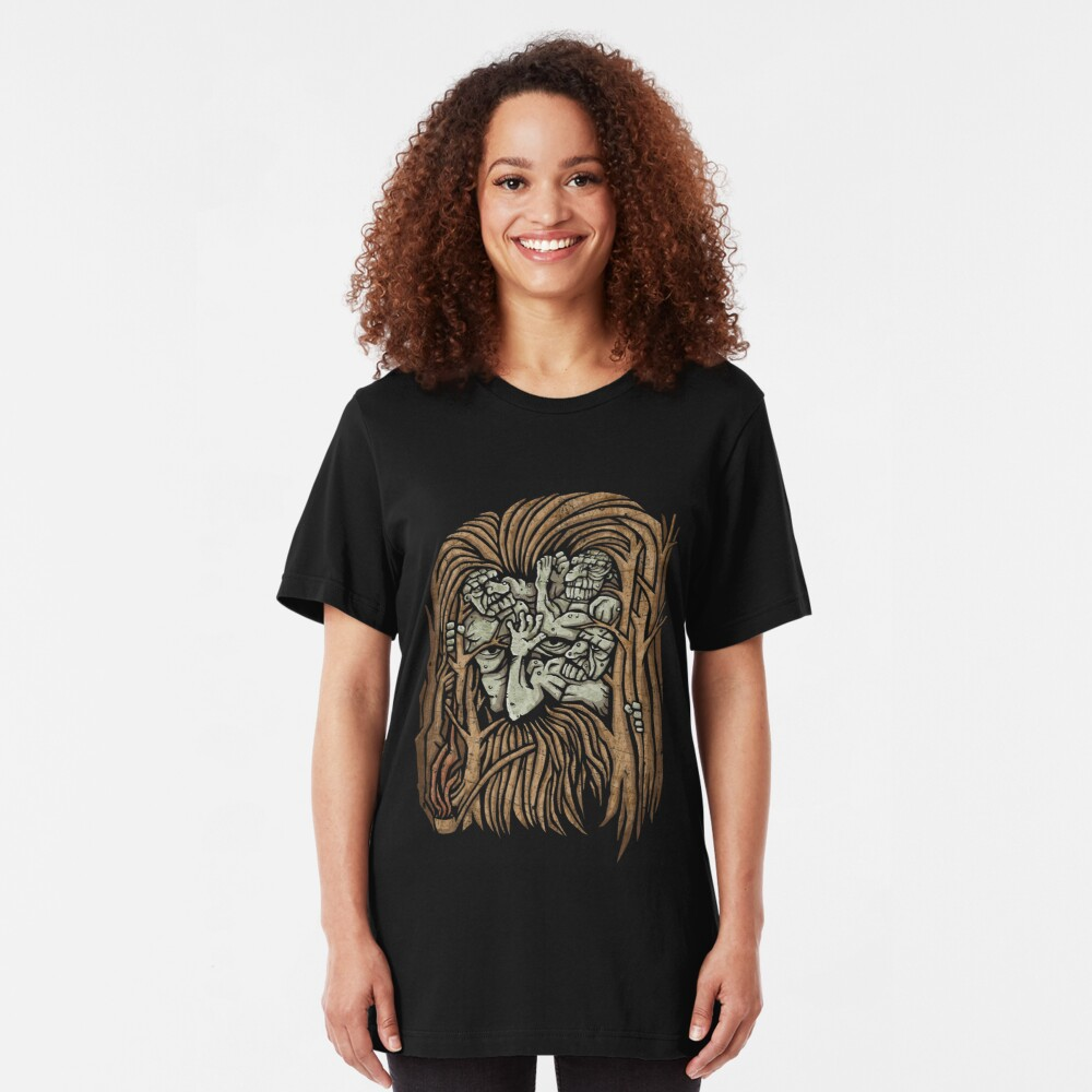 The Dawn Will Take You All Slim Fit T-Shirt