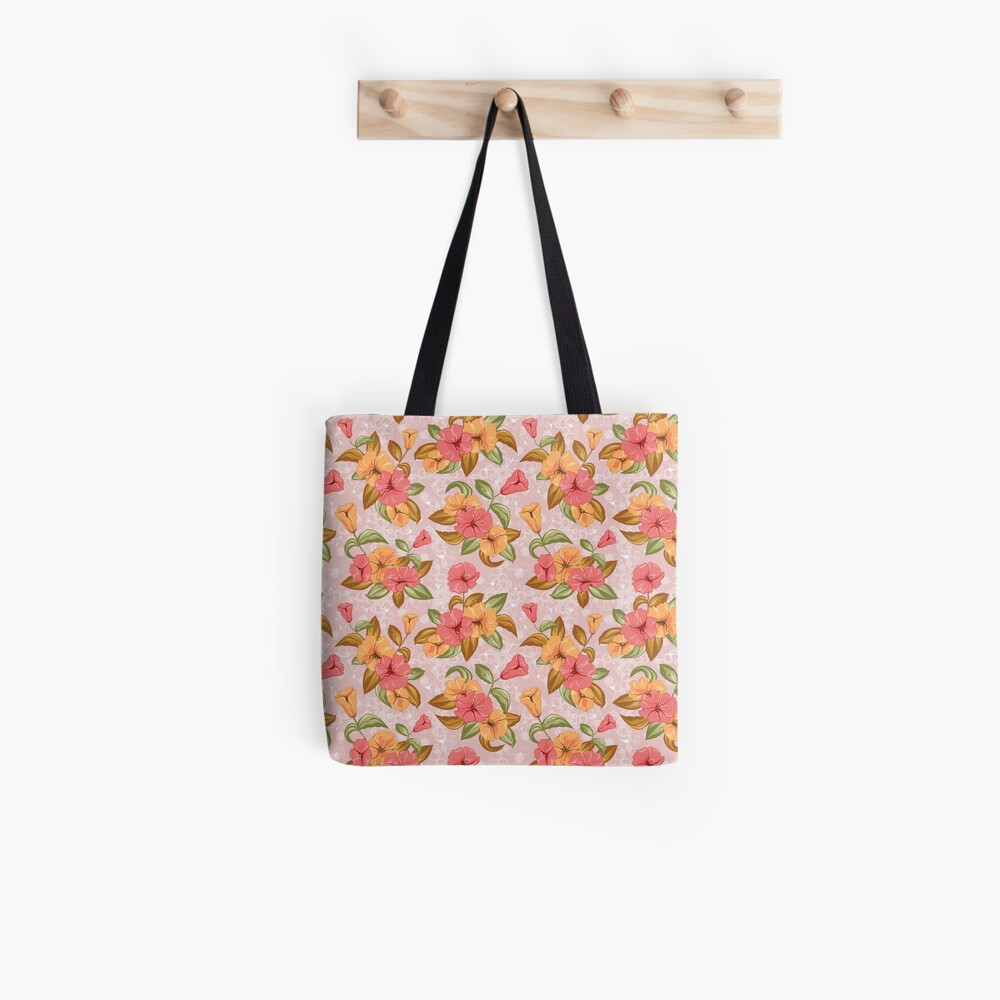 Floral decorations for beautiful products Tote Bag