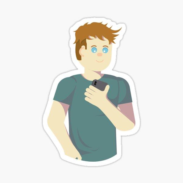 Social boy  Sticker