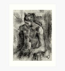 Figure Drawing Art Print