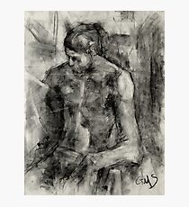 Figure Drawing Photographic Print