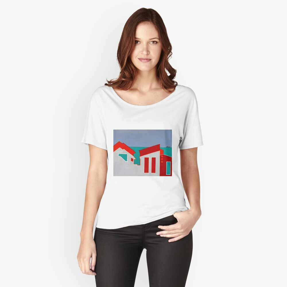 Bay Views Women's Relaxed Fit T-Shirt Front