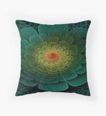 3D Bloom 4 Throw Pillow