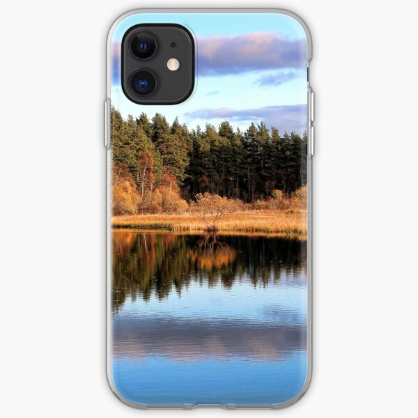 Loch Kildary-Scotland iPhone Soft Case