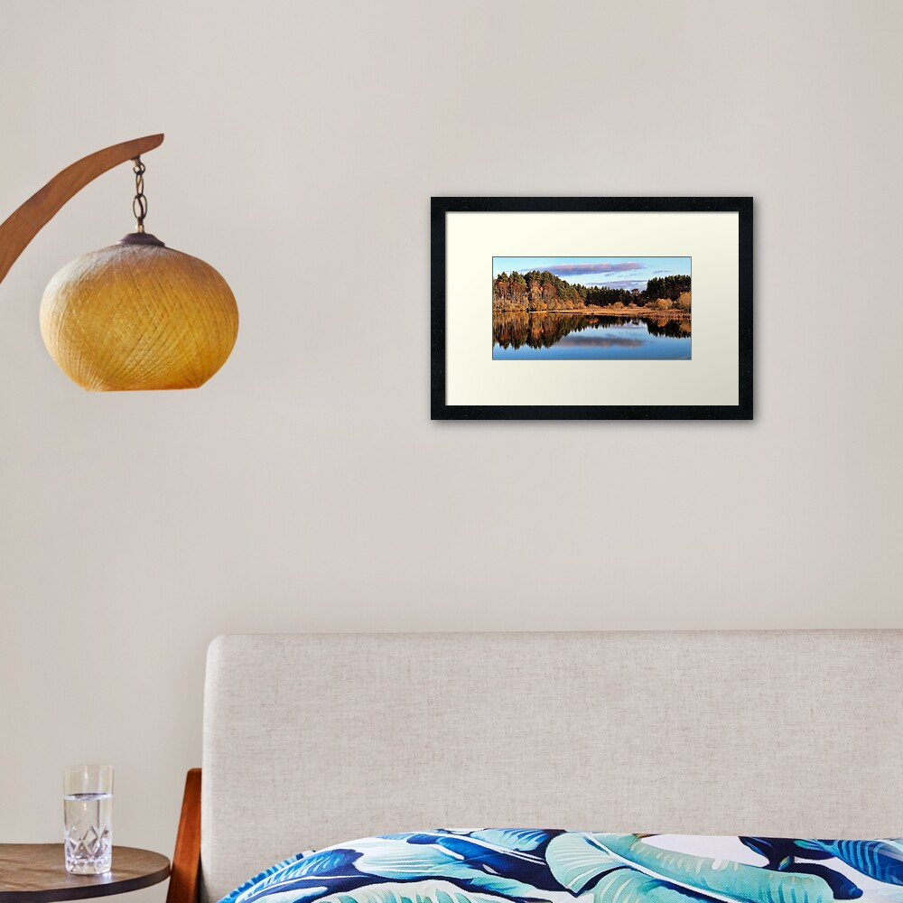 Loch Kildary-Scotland Framed Art Print