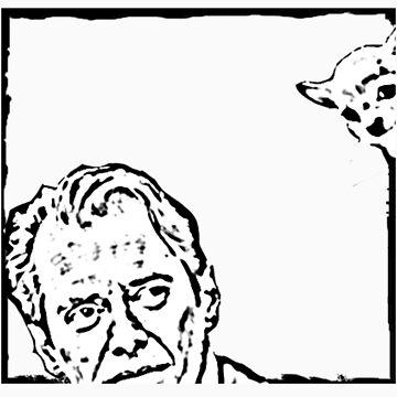 Steve Buscemi vs the Chihuahua eyes by sandypants