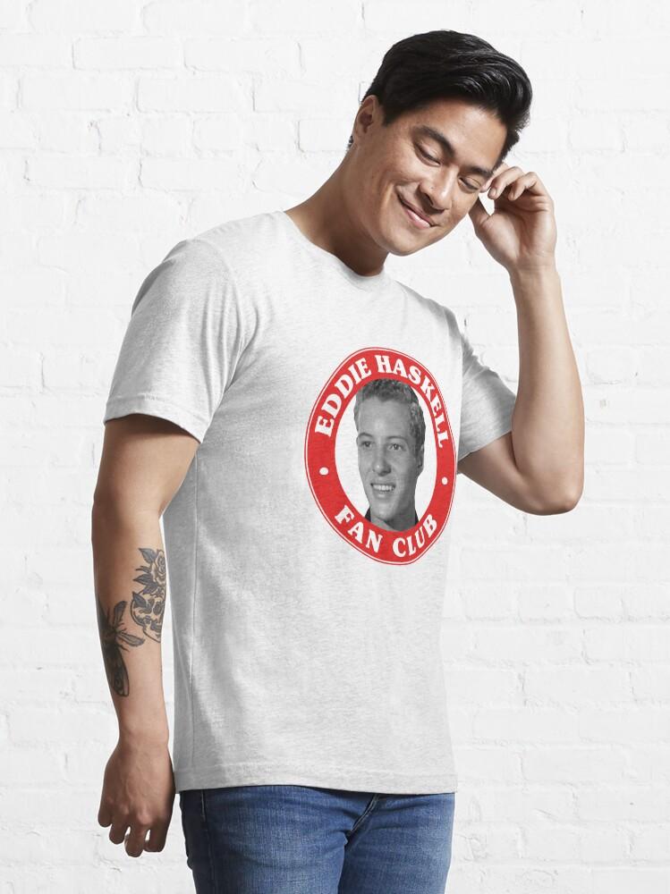 Alternate view of Eddie Haskell Fan Club Essential T-Shirt