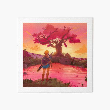 Satori Sunset  Art Board Print