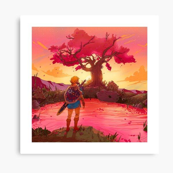 Satori Sunset Impression sur toile