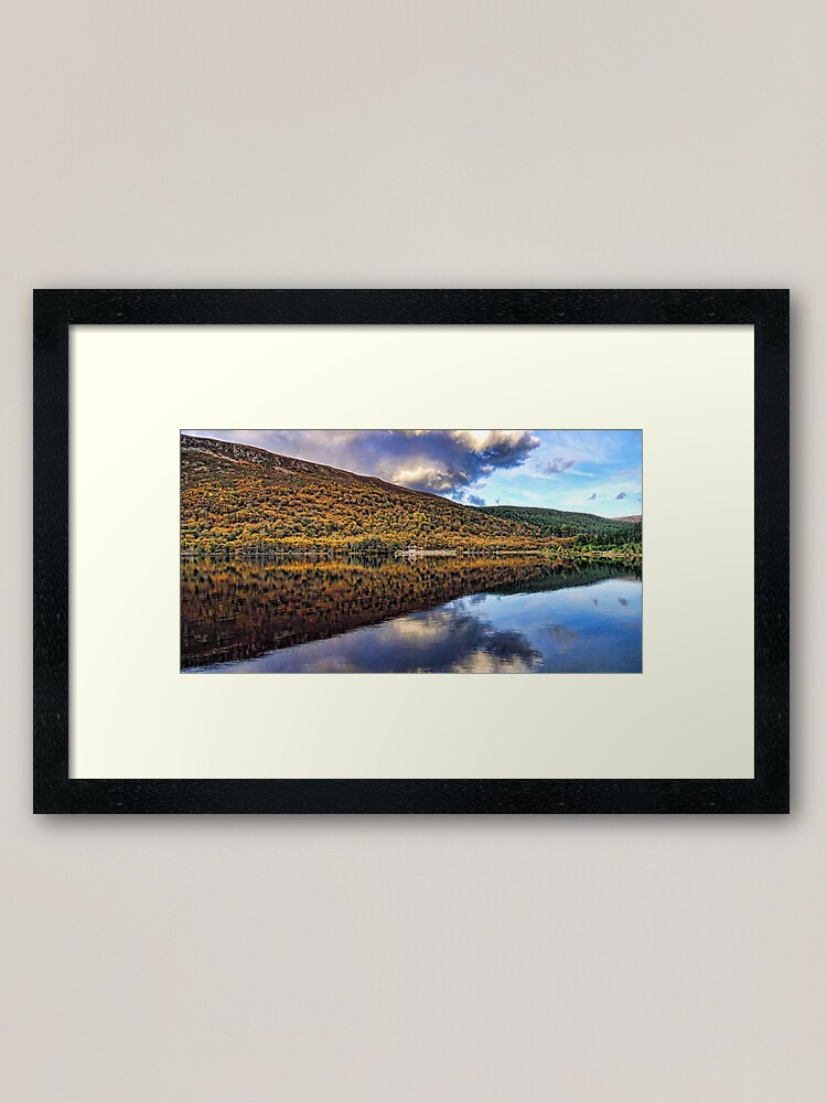 Alternate view of Loch Morie-Scotland Framed Art Print