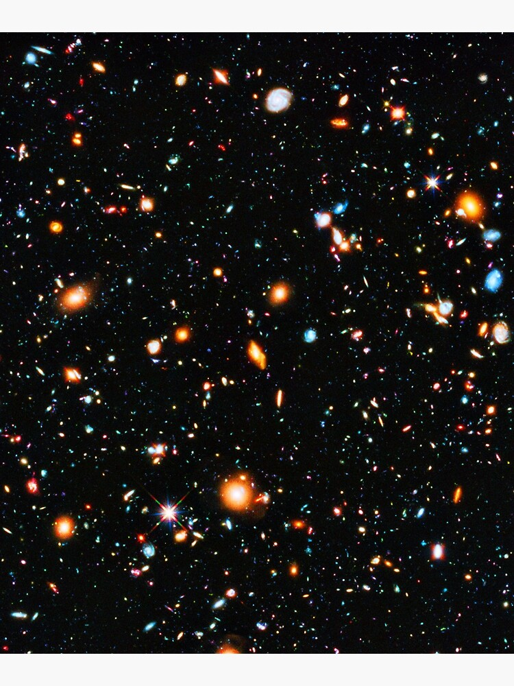 Hubble Extreme Deep Field by HeadRubble