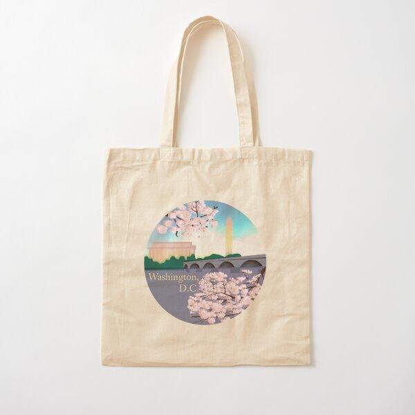 Washington, D.C. Illustration  Cotton Tote Bag