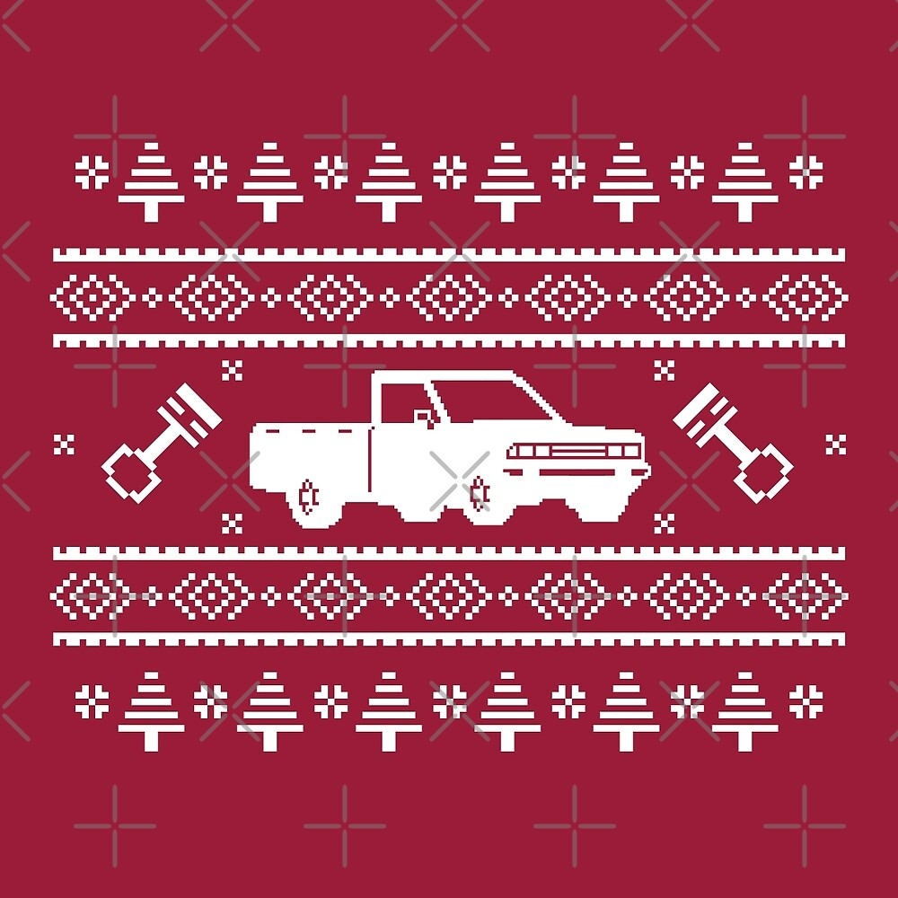 Datsun 720 Ugly Sweater by The World Of Pootermobile