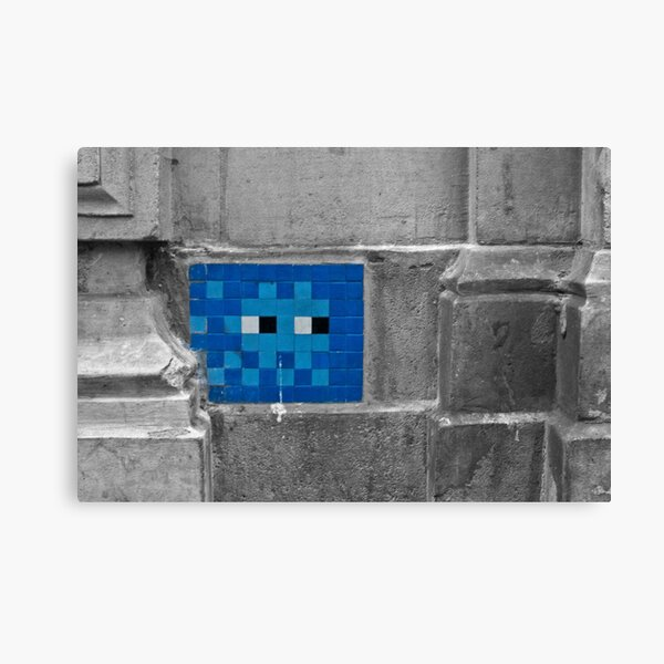 Space Invader 5 Canvas Print
