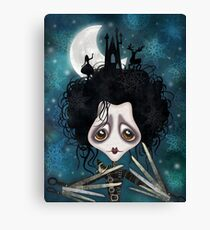 Edward, Sweet Edward Canvas Print