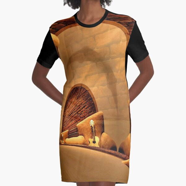 The Long Room Graphic T-Shirt Dress