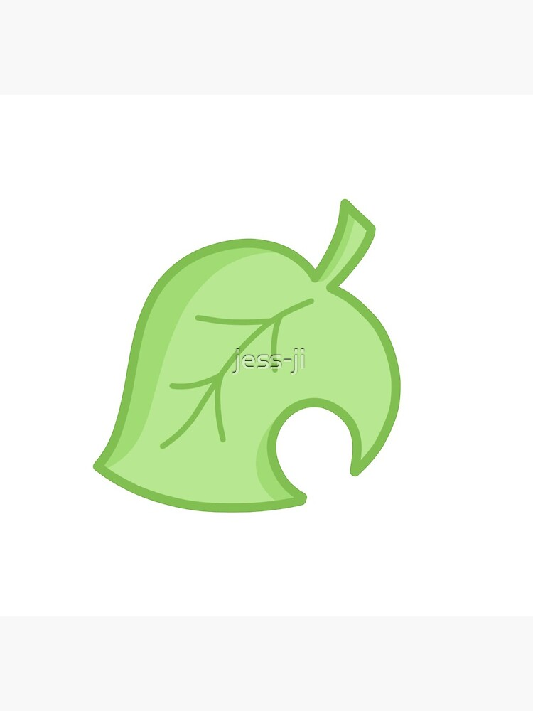 Animal Crossing Leaf Icon Greeting Card By Jess Ji Redbubble