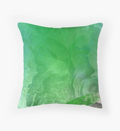 Tales From the Water Throw Pillow