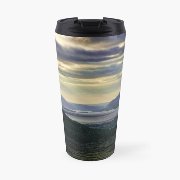 Looking West-To Loch Maree in the Highlands of Scotland(2) Travel Mug