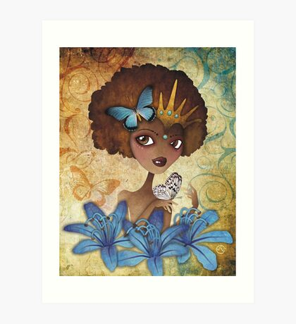 Lily of the Nile Art Print