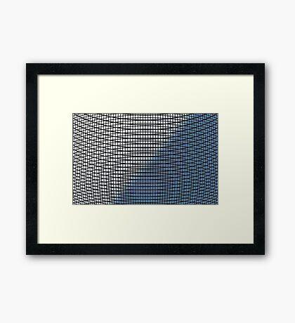 Wattlework Framed Print