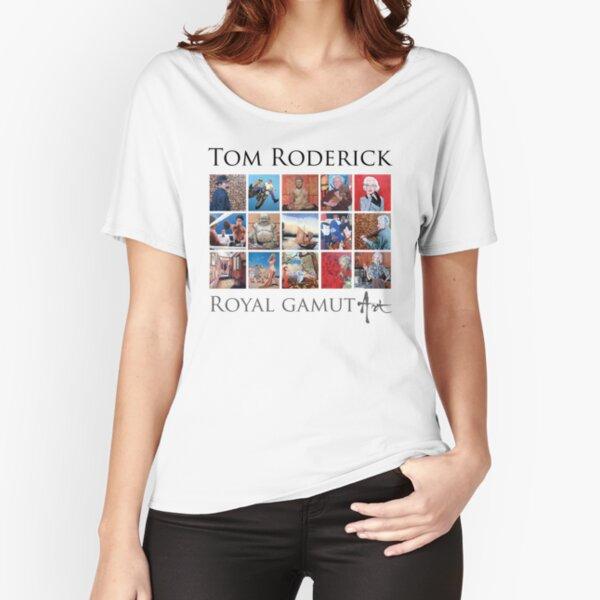 Tom Roderick - Royal Gamut Art Relaxed Fit T-Shirt