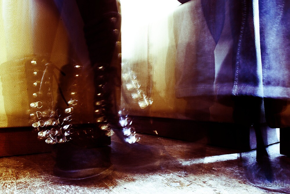 Dancing Feet Colour by babibell