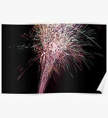 firework display posters redbubble