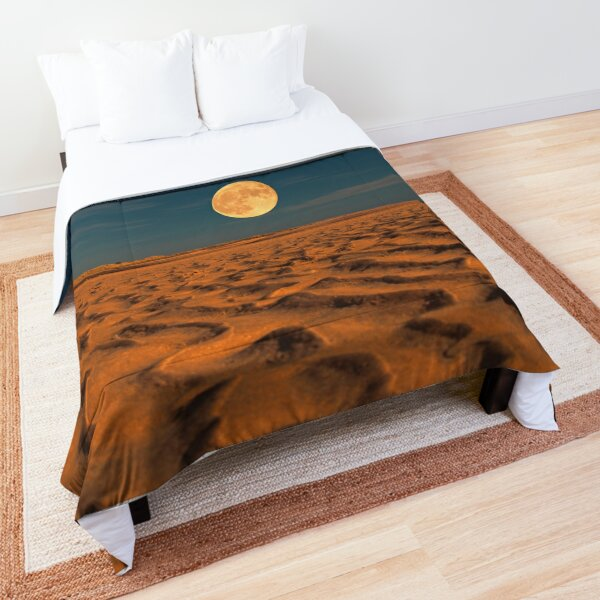 Moon across the Sands Comforter