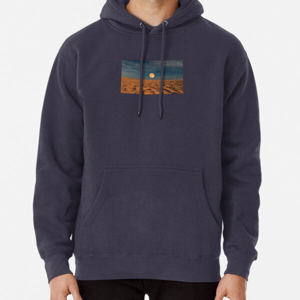 Moon across the Sands Pullover Hoodie