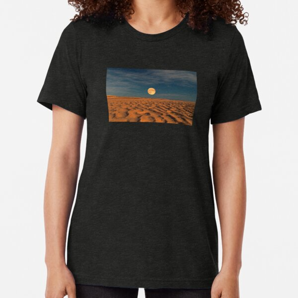 Moon across the Sands Tri-blend T-Shirt